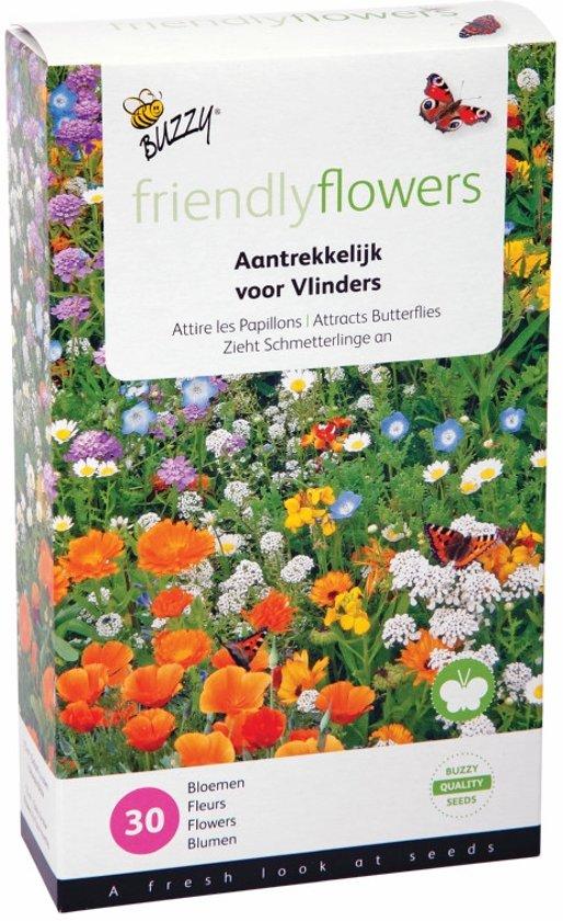 Bloemenmix voor vlinders - 15 m² - set van 2 stuks