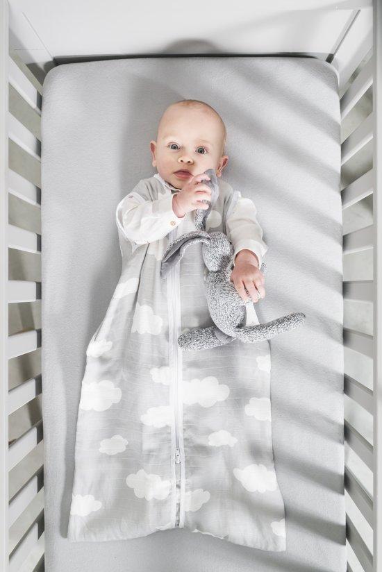 Jollein Clouds - Babyslaapzak Hydrofiel Zomer - 90 cm - Roze