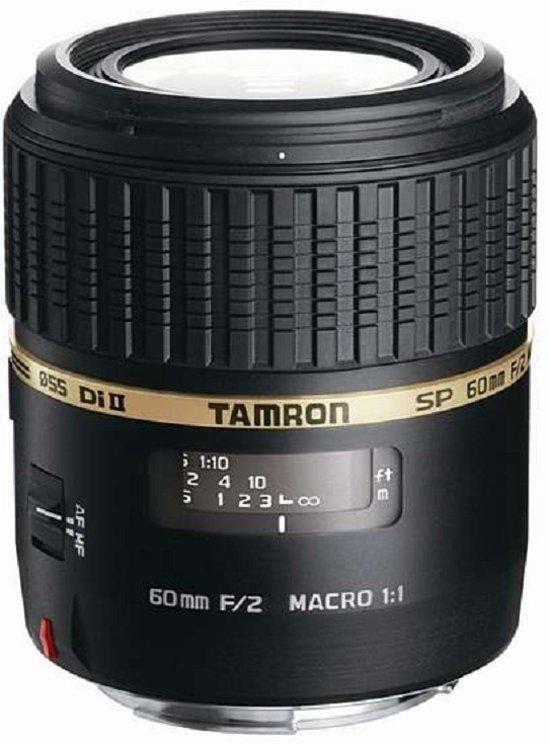 Tamron SP AF 60mm - F2.0 Di II - Macro lens - Geschikt voor Sony