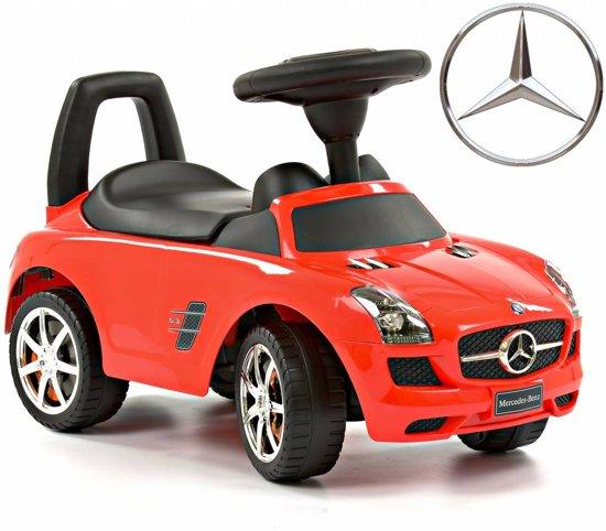 Bol Com Loopauto Mercedes Benz Sls Amg Rood 1376 Mercedes