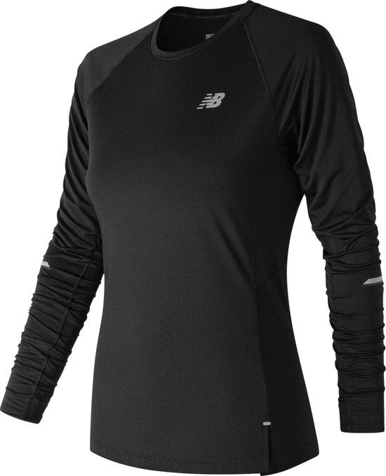 New Balance Nb Ice 2,0 Ss Sportshirt Dames - Black