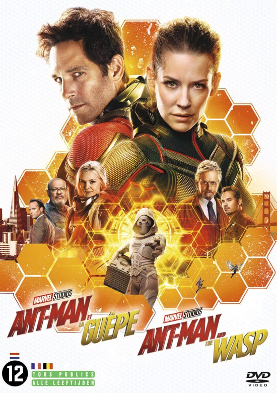 DVD cover van Ant-man and the Wasp
