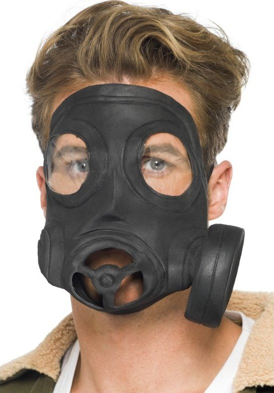 Gasmasker voor volwassenen Halloween - Verkleedmasker