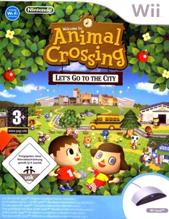 Image of: Animal Parade Animal Crossing Lets Go To The City Wii Speak Bolcom Bolcom Animal Crossing Lets Go To The City Wii Speak