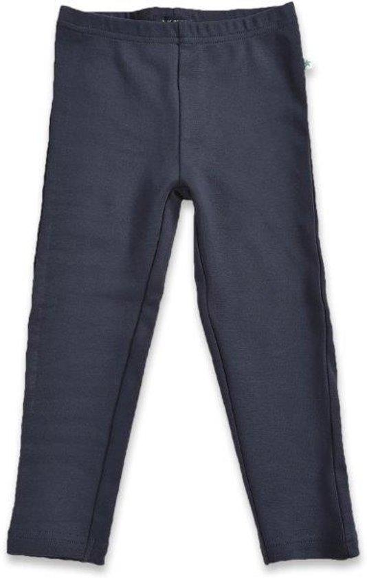 Blue Seven Meisjes Legging - ANTRACIET  - Maat 110