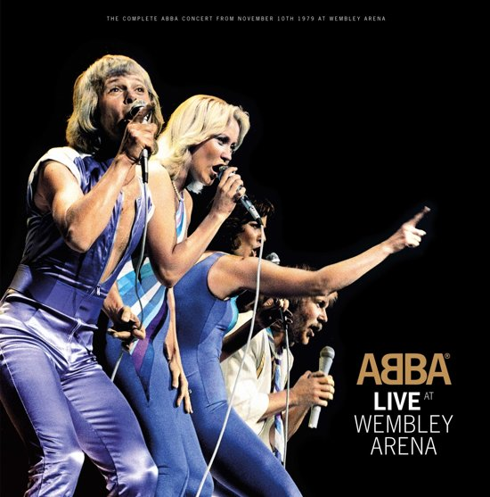 CD cover van Live At Wembley van ABBA