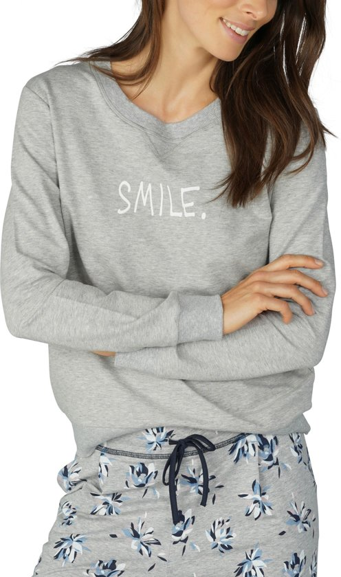 6101be779a5 Mey Sweater Night2day Dames 16886 - XS - Grijs