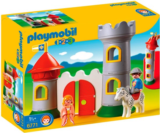 playmobil 123 mijn eerste kasteel 6771 playmobil. Black Bedroom Furniture Sets. Home Design Ideas