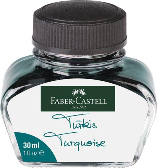 Faber castell vulpeninkt turkoois flacon 30 ml