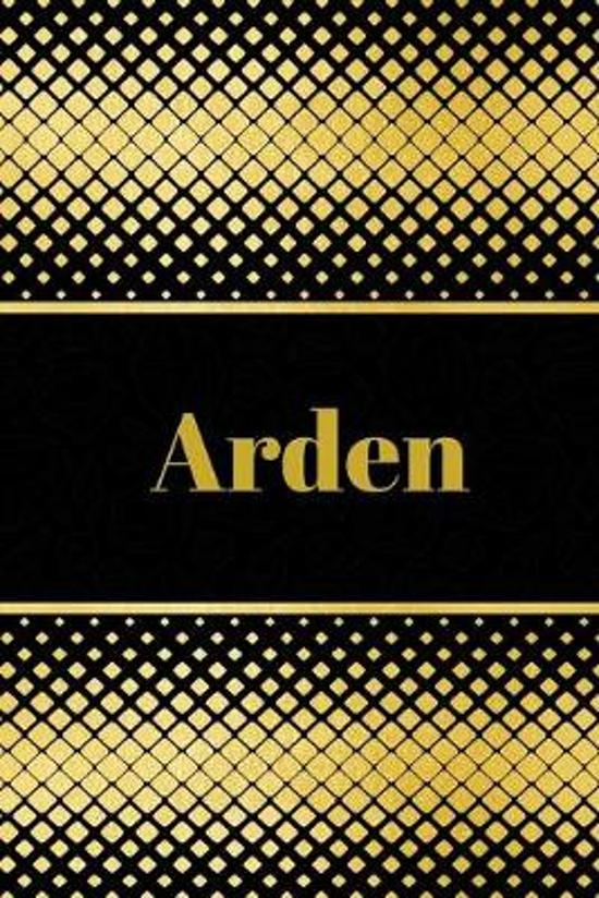 Arden: Personalized Journal to write in Positive Thoughts, Work Ideas, Business for Men, Entrepreneurs gifts holidays