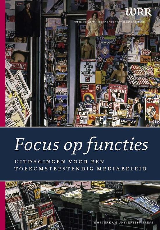 WRR Rapporten 71 - Focus op functies