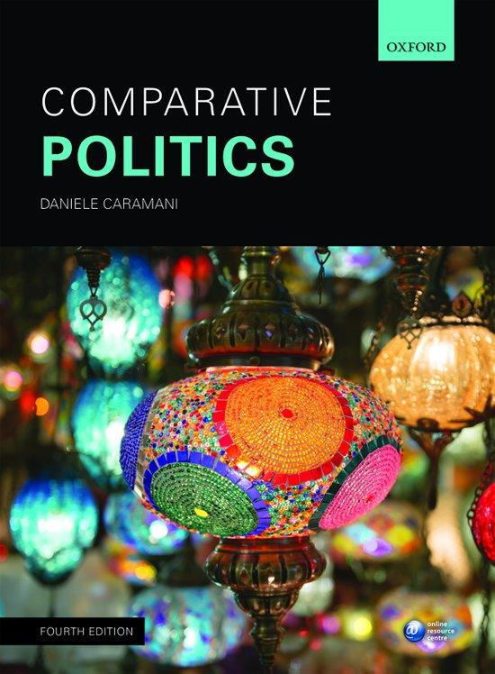 Boek cover Comparative Politics 4E P van Caramani (Paperback)