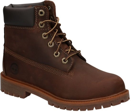 Timberland Authentic 6 Inch Boots Bruin Meisjes 37