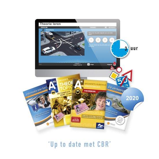 Scooter Theorieboek Nederland 2019 - Theorie Boek Bromfiets Rijbewijs AM met Samenvatting en 3 Uur Online Examentraining + CBR Informatie en Verkeersborden