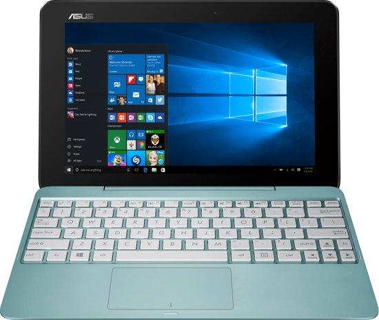 asus t100ha fu008t hybride laptop tablet blauw. Black Bedroom Furniture Sets. Home Design Ideas