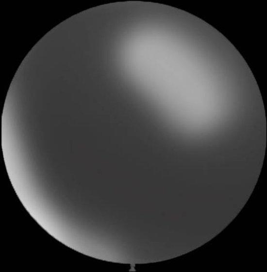 Mega grote transparante ballonnen 90 cm