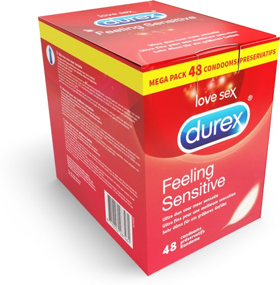 Durex Feeling Sensitive Condooms Maxi Pack - 48 stuks