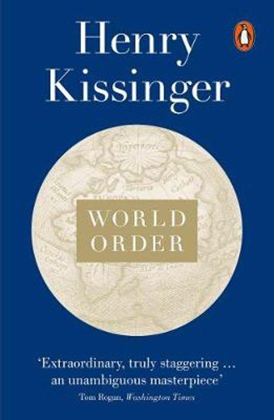 Boek cover World Order van Henry Kissinger (Onbekend)