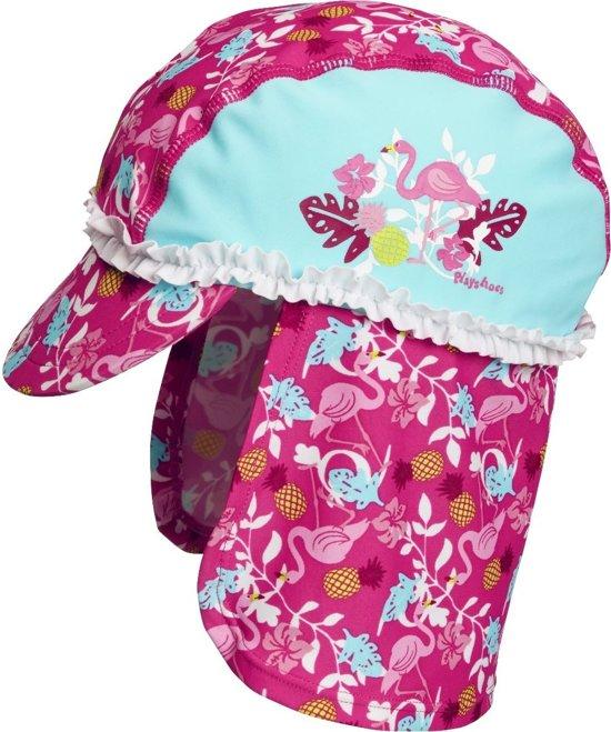 75409443879e6a bol.com | Playshoes UV zonnepet Kinderen Flamingo - Aquablauw/Roze ...