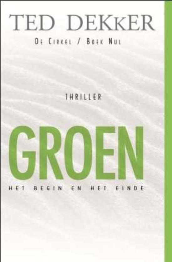 Boek cover GROEN van Ted Dekker (Paperback)