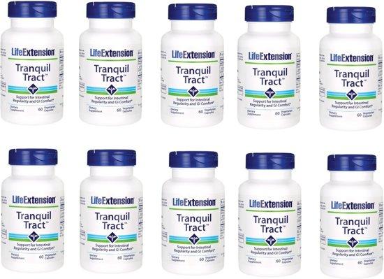 Tranquil Tract, 60 Vegetarian Capsules, 10-packs