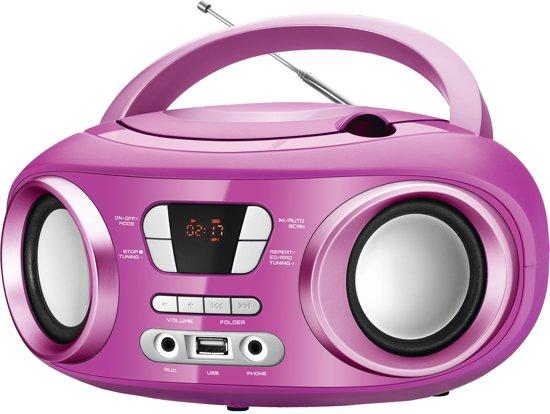 Ongekend bol.com   Radio met cd- en mp3-speler en Bluetooth BRIGMTON W-501 RE-27