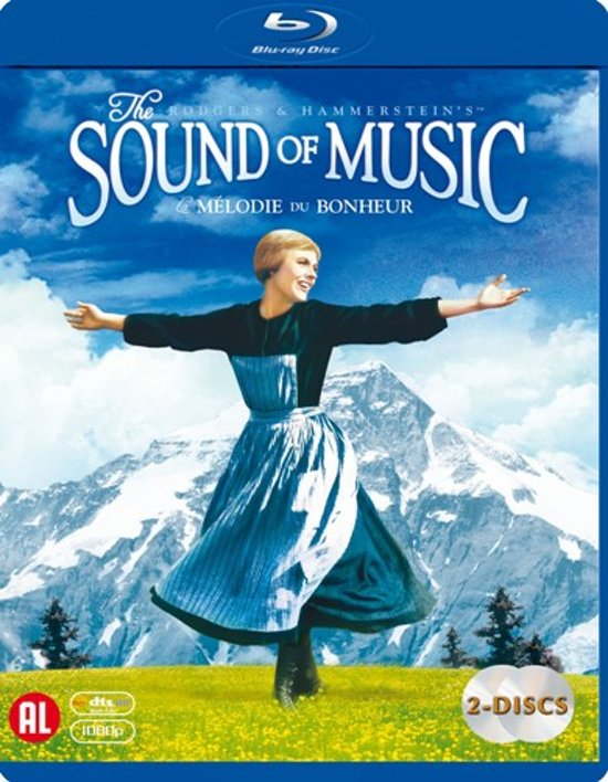 DVD cover van The Sound Of Music (Blu-ray)