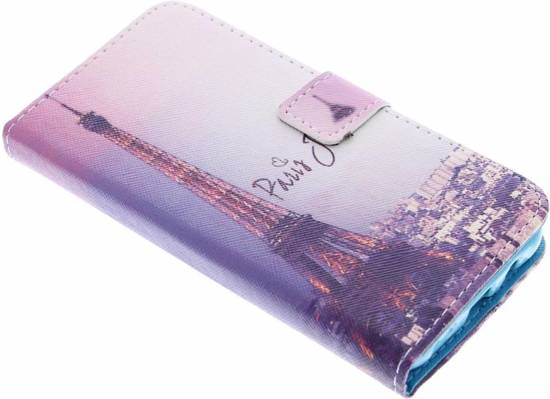 Tour Eiffel Design Booktype Etui En Tpu Pour Samsung Galaxy J5 (2016) tjAjdGjvLx