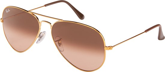5ff70f462f42dd Ray-Ban RB3025 9001A5 - Aviator - zonnebril - Brons-Koper   Roze-
