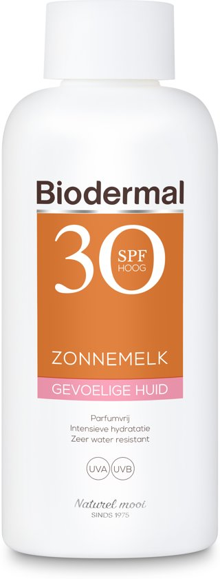 Biodermal Zon - Gevoelige huid - Zonnemelk - SPF 30 - 200ml