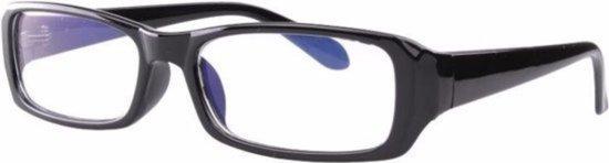 Computerbril - beeldschermbril - vermoeide ogen - bril tegen Blauw licht - Zwart - DisQounts