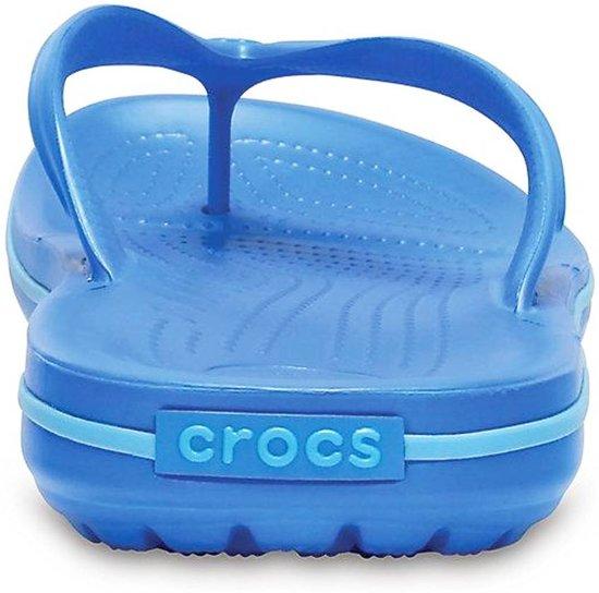 Crocs Crocband Flip  Slippers - Maat 42 - Unisex - blauw Maat 42-43
