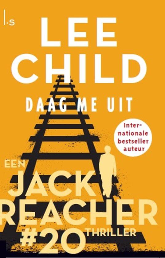 Boekomslag voor Jack Reacher 20 - Daag me uit