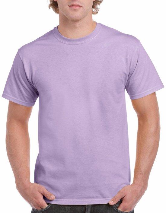 Lilapaars katoenen shirt voor volwassenen L (40/52)
