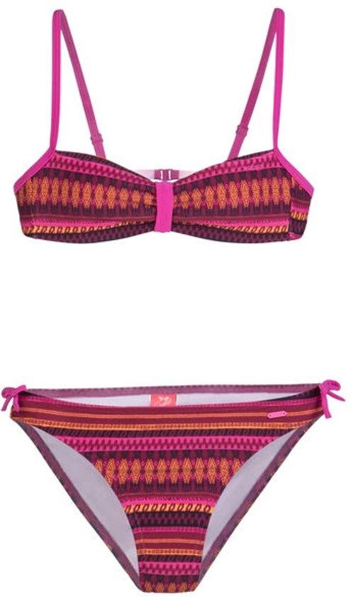 0db4a689ebe099 Protest HULA 18-2 JR Bandeau Bikini Top Meisjes - Flora - Maat 140
