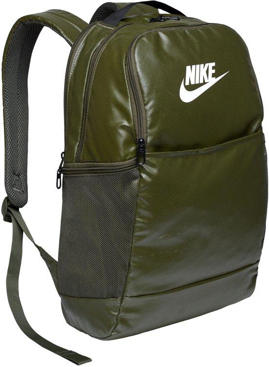 Nike  Brsla M  - 9.0 Mtrl Unisex Sporttas - Cargo Khaki/Cargo Khaki/(White)