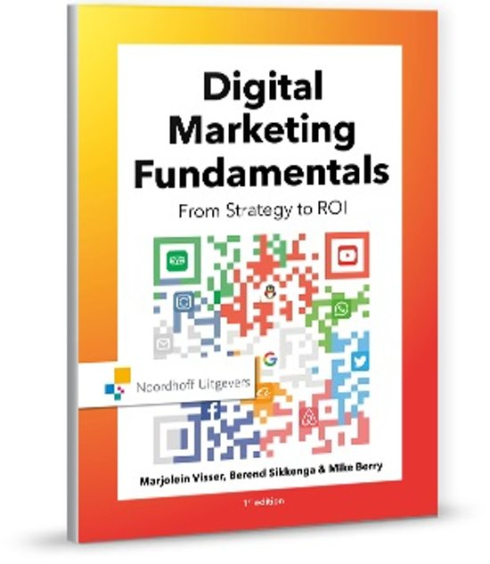 Boek cover Digital marketing fundamentals van Marjolein Visser (Paperback)