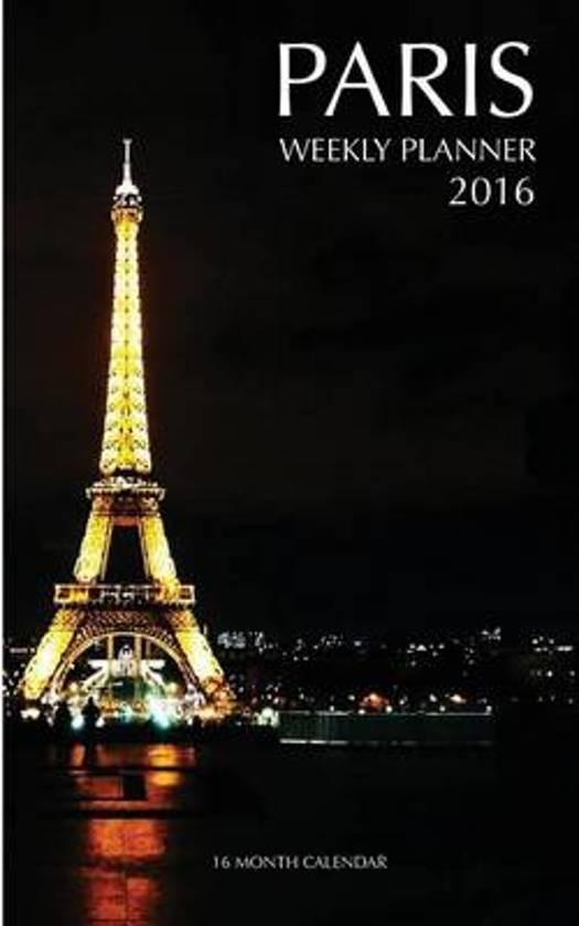 Paris Weekly Planner 2016