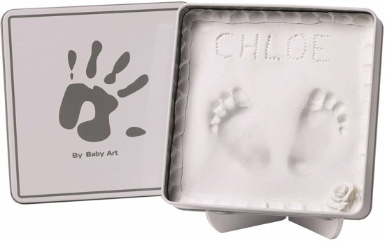 BabyArt Magic Box White & Grey