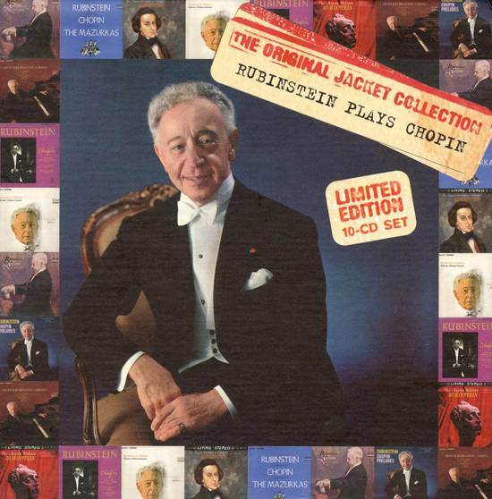 Arthur Rubinstein: The Original Jacket