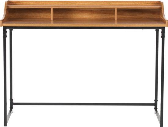 WOOOD Riff Buro - Metaal/Hout - Bruin - 90x120x60