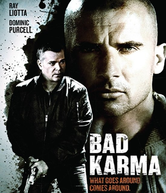 Cover van de film 'Bad Karma'
