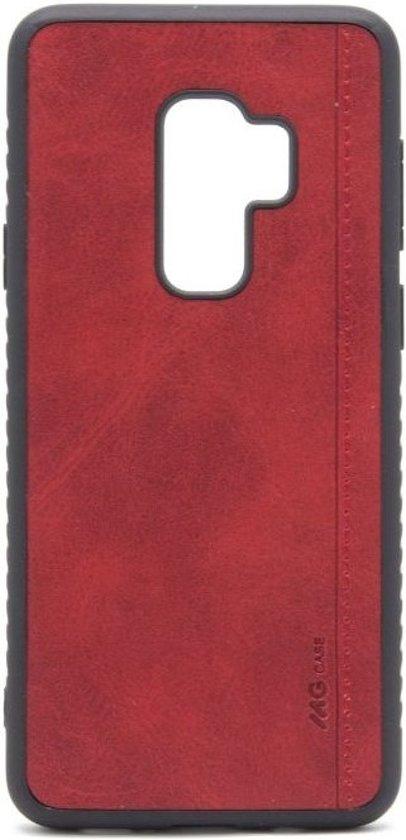 Hoesje geschikt voor Samsung Galaxy S9 Plus - Rood