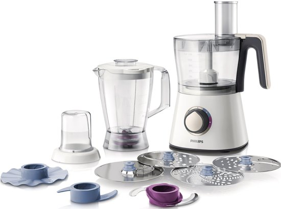 Philips Viva HR7762/00 - Foodprocessor - Wit