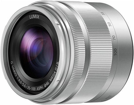 Panasonic Lumix G Vario 35-100mm f/4.0-5.6 O.I.S. Zilver