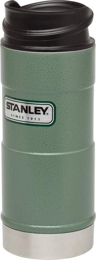 Stanley Classic One Hand Vacuum Mug Thermosbeker - 354 ml - RVS - Hammertone Green