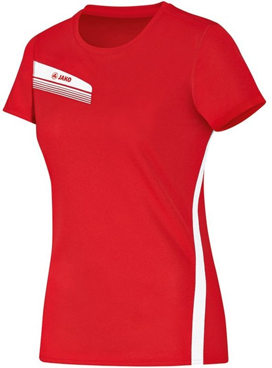 Jako Athletico Dames T-Shirt - Shirts  - rood - 34