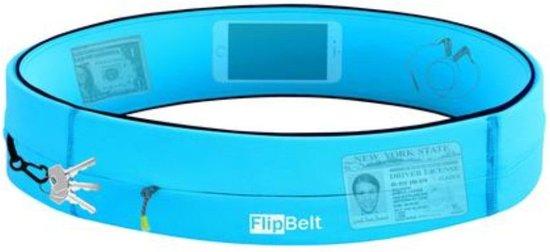 Flipbelt - Zipper - Running belt - Hardloop belt - Hardloop riem - Aqua - M