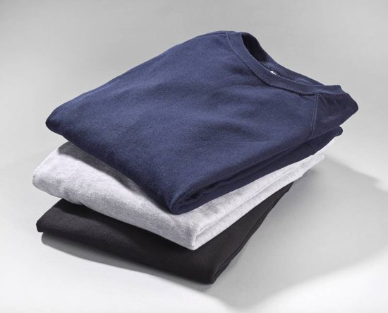 Fruit of the Loom Sweatshirt heren met ronde hals marineblauw maat XL