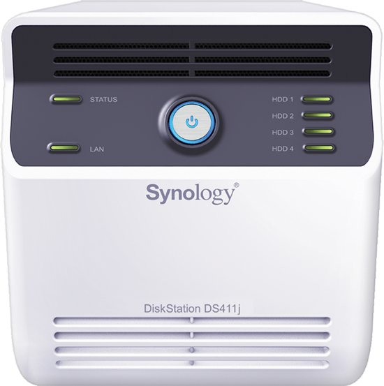 Synology DiskStation DS411J 4B Max - 12TB / 1.2Ghz